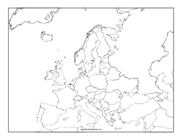 Image Result For Europe Map Fill